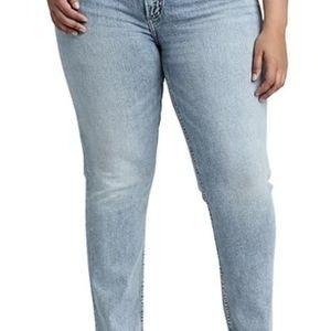 🆕️ NWT Silver Elyse Slim Leg Jean Size 16